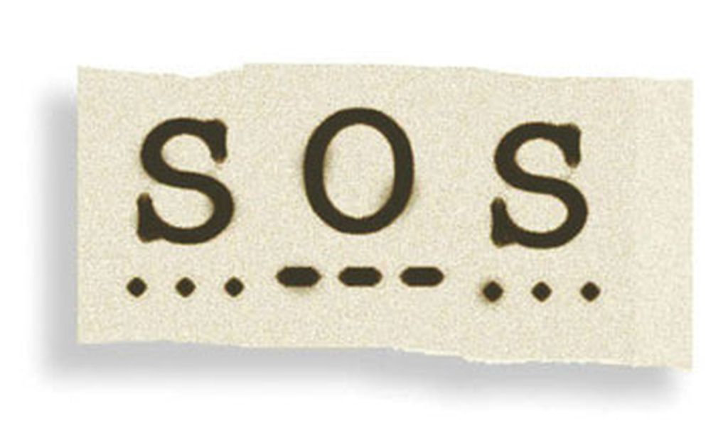 The International Radiotelegraphic Convention adopts three dots, three dashes and three dots—SOS in Morse code—as the standard wireless distress signal, on November 3, 1906. Chosen because it is easy to send and hard to misinterpret, the signal, which doesn't actually stand for anything—not even Save Our Ship—can't save the Titanic, which sends out SOSs in 1912. In 1999 a global satellite system replaces SOS on all large ships.