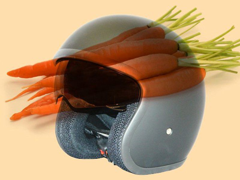 Coming soon: helmets made from carrots