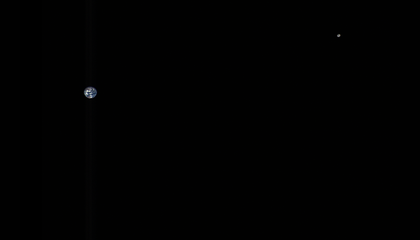 Asteroid-Sampling Spacecraft Captures Haunting View of Earth in Space