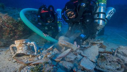 Antikythera Shipwreck Yields New Cache of Ancient Treasures