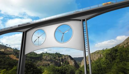 Could a Wind Turbine Be Coming to a Bridge Near You?