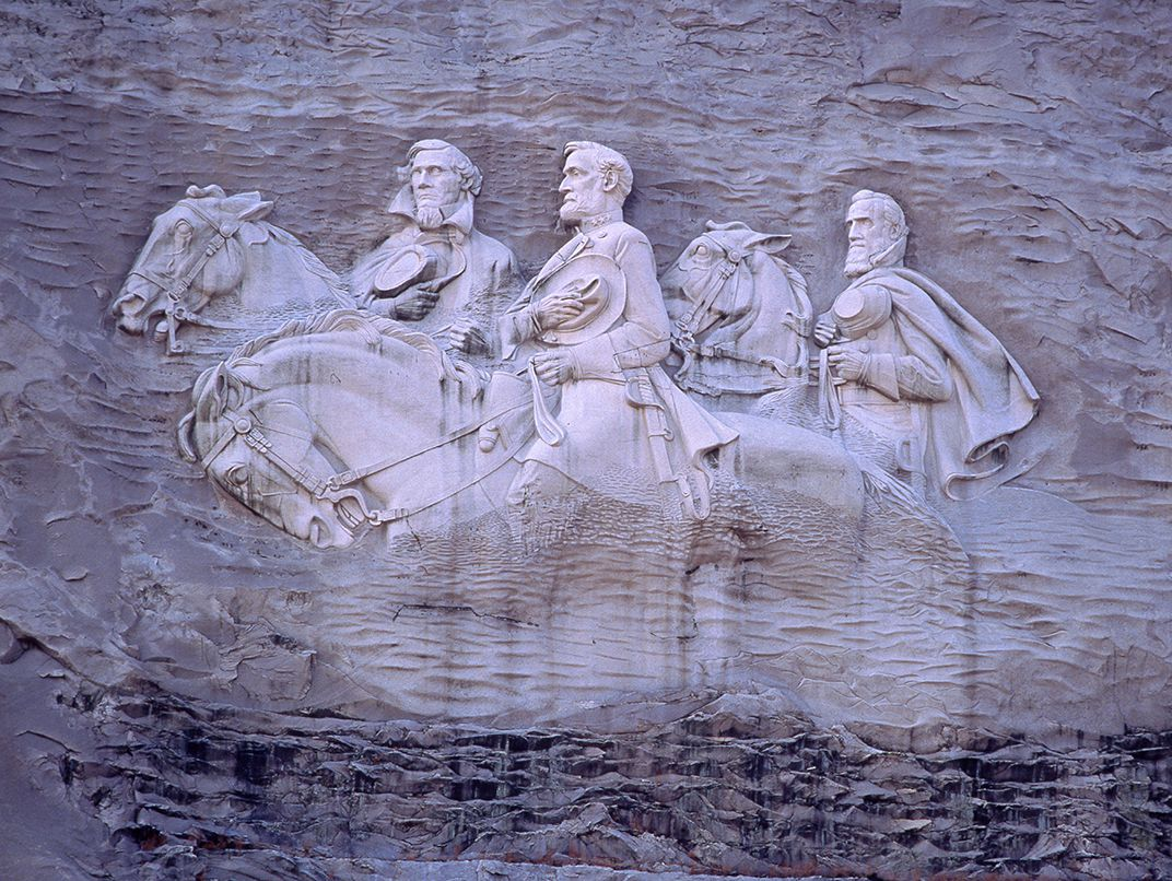 What will happen to stone mountain americas largest confederate memorial