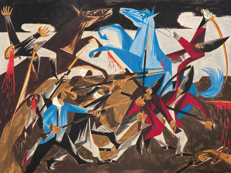 Jacob Lawrence panel