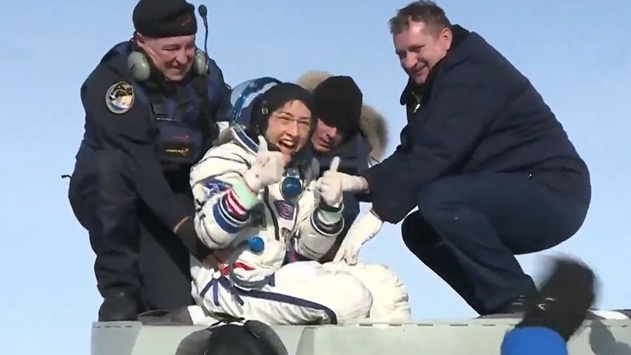 Christina Koch Returns to Earth After Breaking Spaceflight Record