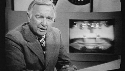 The First Anchorman Ever Was Not Walter Cronkite