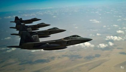 Raptor Sees First Combat Over Syria