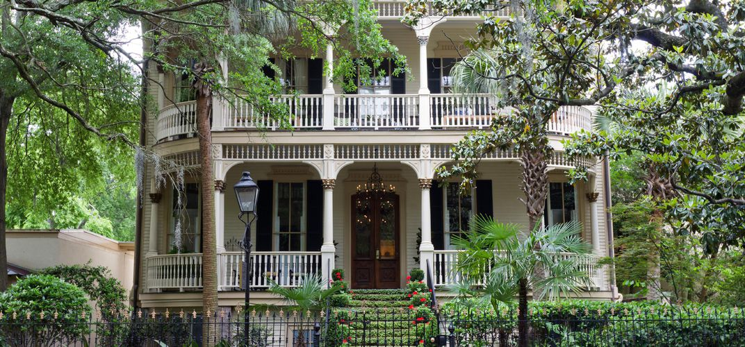 Historic home in Savannah
