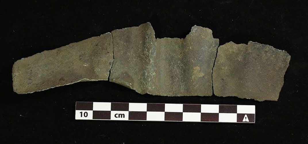 Caption: Grave Tells Tale on Early Humans in North America