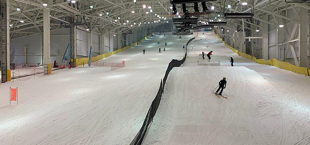 Caption: Eight of the World's Coolest Indoor Snow Parks