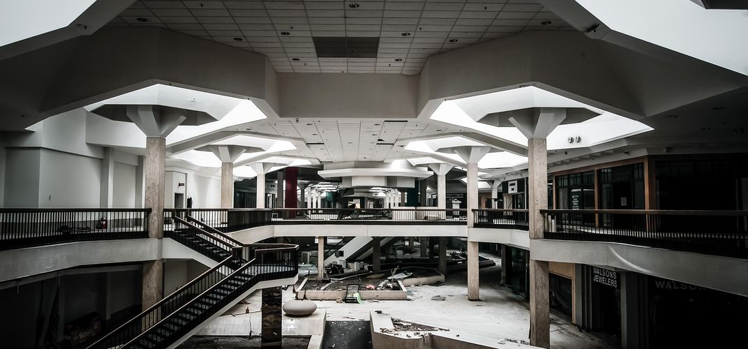 Caption: Rise of the Zombie Mall