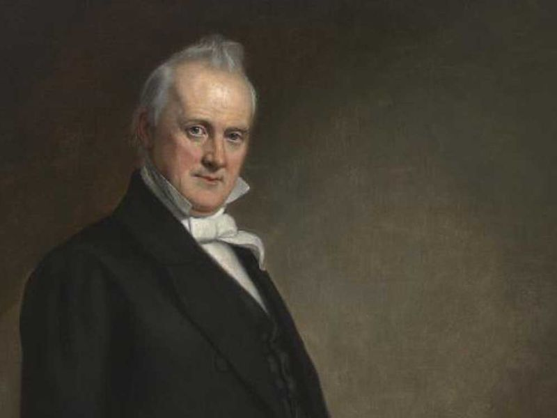 The 175-Year History of Speculating About President James Buchanan's Bachelorhood