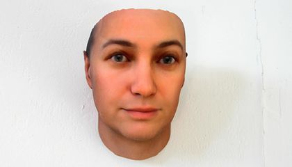 Creepy or Cool? Portraits Derived From the DNA in Hair and Gum Found in Public Places