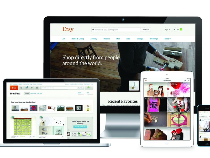 Etsy Product Design: Building the marketplace, global, ongoing.