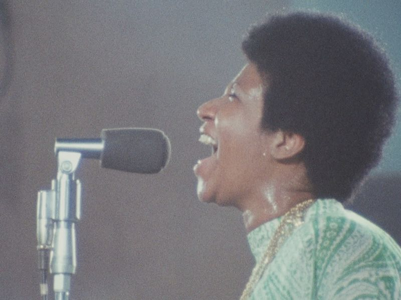 Aretha in Amazing Grace