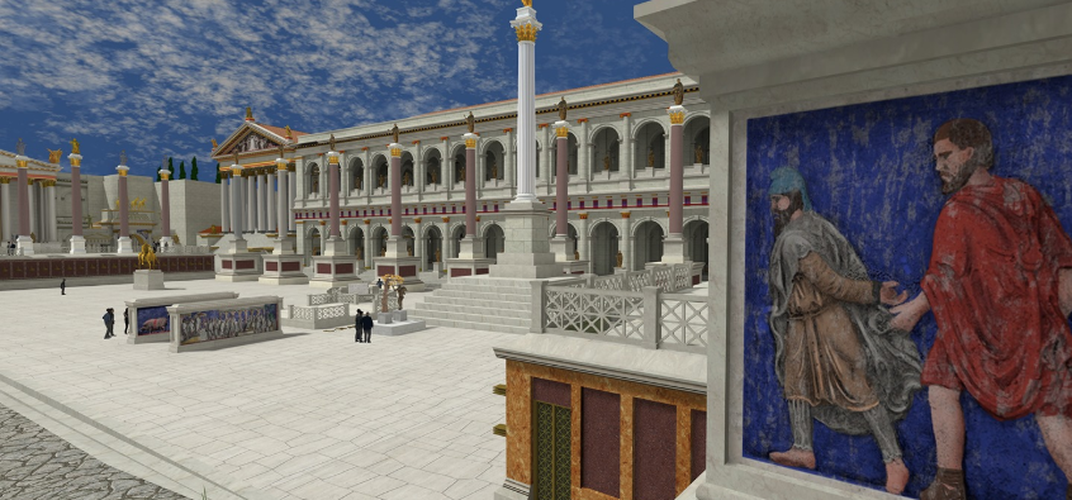 Caption: See 7,000 Roman Buildings Restored to Their Former Glory Through VR