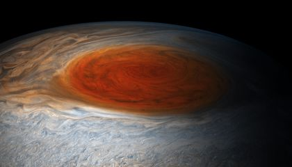 What Lurks Below Jupiter's Great Red Spot?