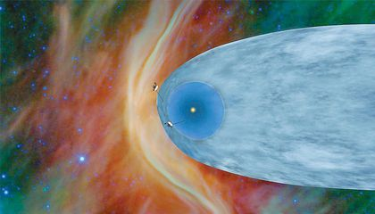 As Voyager 2 Gets Farther From the Sun, Space Gets Less Empty