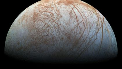 Heat in Jupiter's Moon Europa Might Have Made Its Oceans Habitable