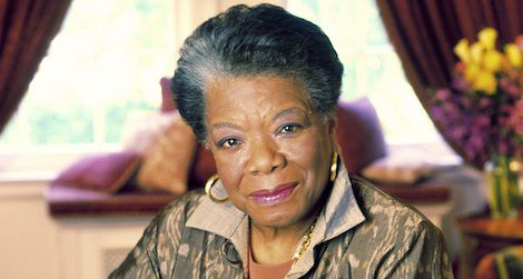 World-famous poet and civil rights activist Maya Angelou