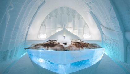 Think You Can Design a Hotel Room Out of Ice?