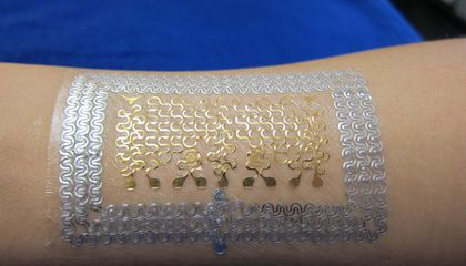 Tiny Tattoo Like Wearables Could Monitor Your Health