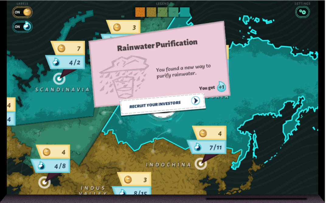 Image of Aquation, the freshwater access game