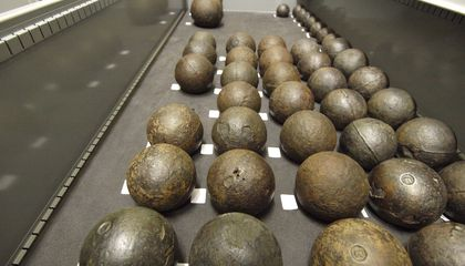 To Save Cannonballs on Henry VIII's Flagship, Researchers Looked to X-ray Tech