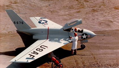 The 98-Pound Weakling of Research Airplanes